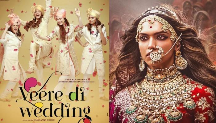 'पद्मावत' से डरीं कई फिल्में, अब 'वीरे दी वेडिंग' ने भी बदली रिलीज डेट