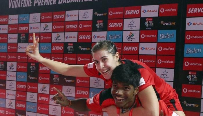 पीबीएल-3: मारिन ने जीता ट्रम्प मैच, हैदराबाद फाइनल में