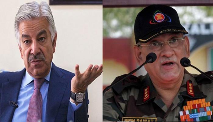 जनरल बिपिन रावत के बयान पर बौखलाया पाकिस्तान, परमाणु हमले की दी धमकी