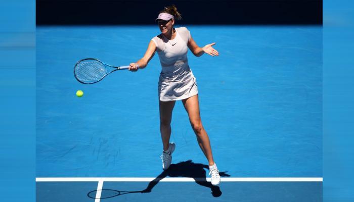 ऑस्ट्रेलियाई ओपन: मारिया शारापोवा का विजयी आगाज, तातजाना को हराकर दूसरे दौर में पहुंची