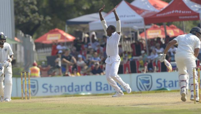 INDvsSA : चौथे दिन का खेल खत्म, भारत ने 35 रनों पर गंवाए 3 विकेट