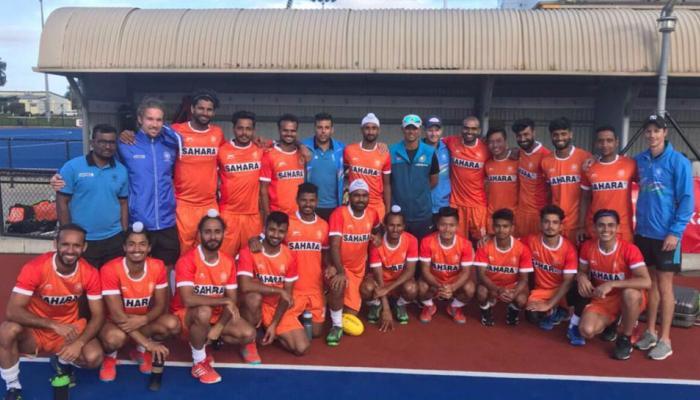 राहुल द्रविड़ का हॉकी प्रेम, अंडर-19 के सितारों के साथ पहुंचे भारतीय टीम का हौसला बढ़ाने