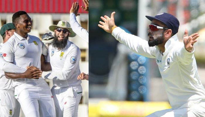 How did the veterans reacted to the series loss of India against South Africa
