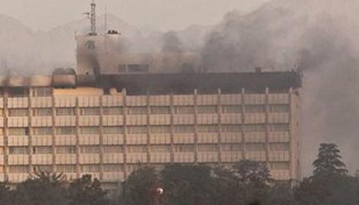 काबुल के लग्जरी होटल पर आतंकी हमला, 10 की मौत, भारी हथियारों से लैस हैं आतंकवादी