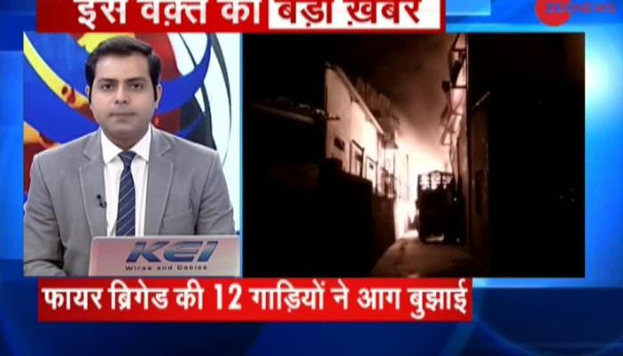 Breaking News: Fire broke out in chemical factory in Valsad, Gujarat