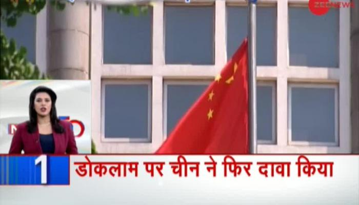 China claims Doklam again, building infrastructure continues