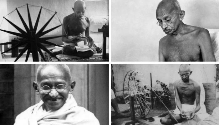 mahatma gandhi 70th death anniversary see the rare photos of bapu