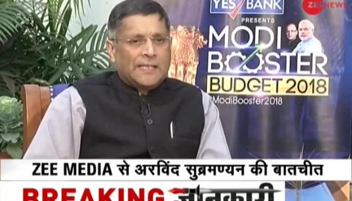 Exclusive Interview: Arvind Subramanian predicts growth rate  around 7-7:50%