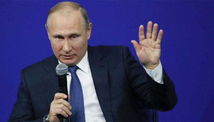 पुतिन ने अमेरिकी क्रेमलिन सूची का उड़ाया मजाक, ट्रंप के निर्णय को बताया 'बेवकूफी'