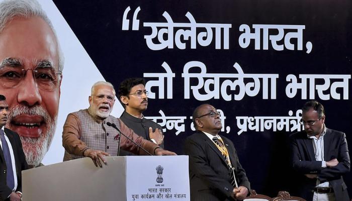 ''खेलो इंडिया'' देश की खेल प्रतिभाओं को पहचान देगी : मोदी