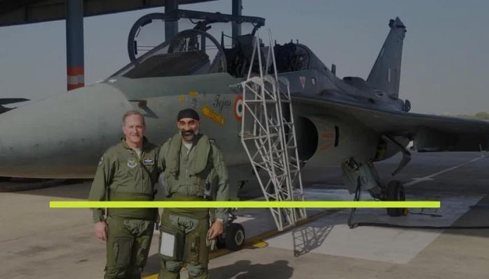 अमेरिकी वायुसेना प्रमुख, जनरल डेविड एल गोल्डफीन, तेजस विमान, जोधपुर, American Air Force chief, General David L. Goldfin, Tejas aircraft, Jodhpur