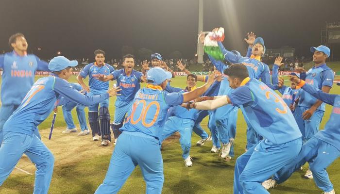 VIDEO : द्रविड़ के 'एकलव्यों' ने जीत के बाद मनाई खुशी, लोग बोले- साल का सबसे बेहतरीन जश्न