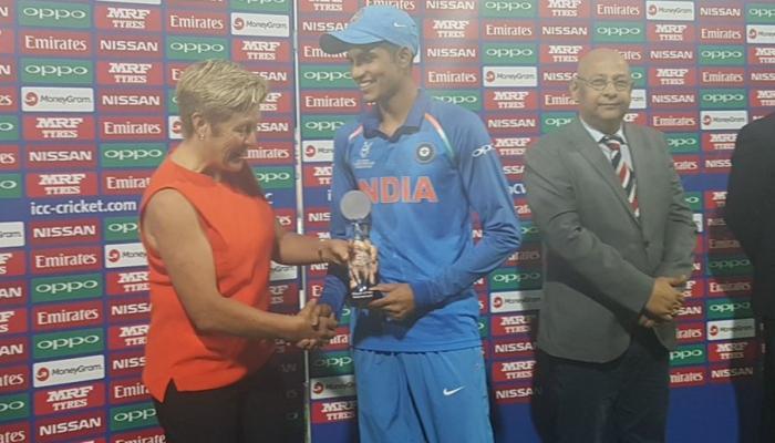 अंडर 19 वर्ल्डकप में भारत के जूनियर ''ब्रैडमैन'' का जलवा, बने 'प्लेयर ऑफ द टूर्नामेंट'