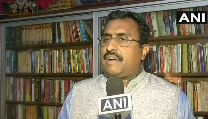 हुर्रियत नेताओं पर खूब सारा पैसा खर्च करने की बात महज अफवाहः बीजेपी नेता राम माधव
