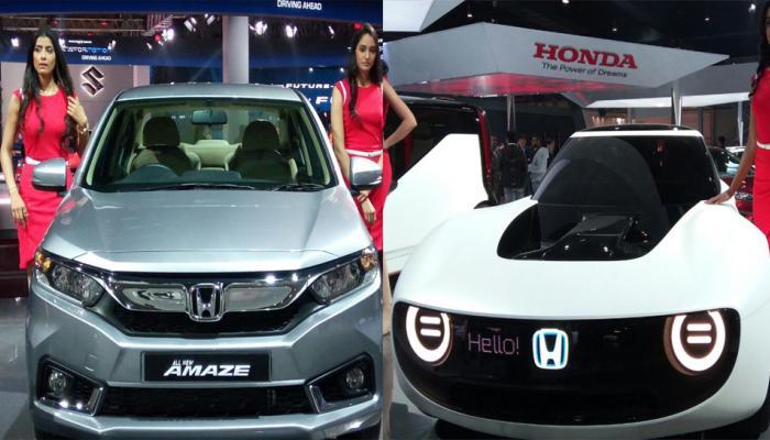 AUTO EXPO: मारुति और होंडा ने उठाया कारों से पर्दा, ह्युंदई ने लॉन्च की Elite i20