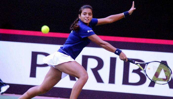 फेड कप टेनिस: अंकिता रैना ने शानदार प्रदर्शन करके भारत को बराबरी पर पहुंचाया