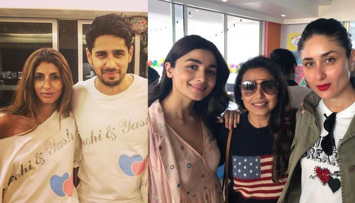 Inside Photos: करण जौहर के ट्विंस की बर्थडे पार्टी में आलिया और सिद्धार्थ, लेकिन...