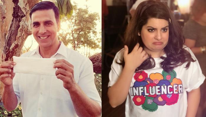 मल्लिका दुआ ने फिर साधा अक्षय कुमार पर निशाना, इस बार 'पैडमैन चैलेंज' पर उठाए सवाल