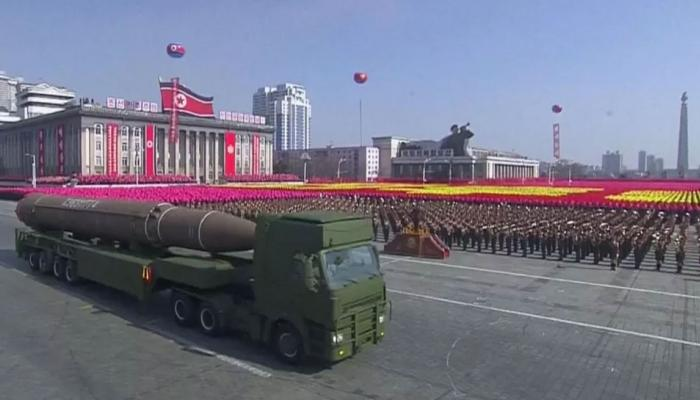 PADOSI DESH: North korea showcases its military power a day before inauguration of winter Olympics