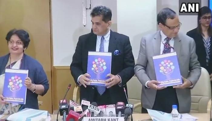नीति आयोग ने जारी की 'हेल्थी स्टेट प्रोग्रेसिव रिपोर्ट', केरल और पंजाब टॉप पर