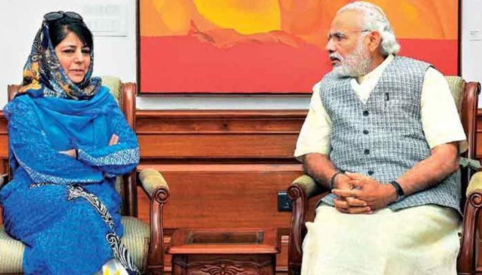 जम्मू कश्मीर में अल्पसंख्यक आयोग गठन को लेकर केंद्र और महबूबा सरकार में टकराव