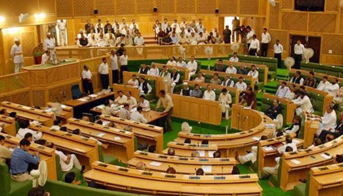 जम्मू कश्मीर विधानसभा में BJP विधायकों ने लगाए पाकिस्तान मुर्दाबाद के नारे