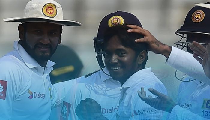 धनंजय के 5 विकेट की बदौलत श्रीलंका ने बांग्लादेश को रौंदा