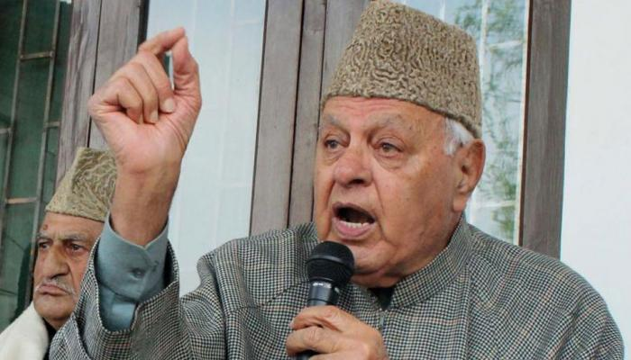 पाकिस्तान के समर्थन में नारे लगाना ठीक नहीं, लोन पर कार्रवाई करूंगा: फारुख अब्दुल्ला