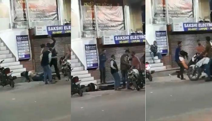 इलाहाबाद : मामूली सी बात पर युवक की पीट-पीटकर हत्या, CCTV में कैद हुई वारदात