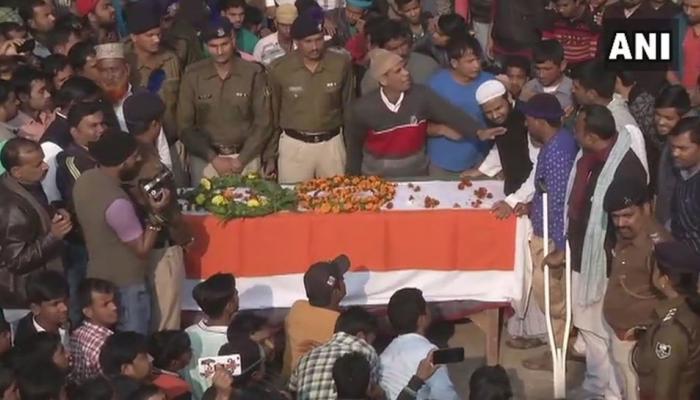 बिहार: शहीद मुजाहिद की अंतिम विदाई में कोई मंत्री नहीं पहुंचा, परिवार ने लौटाया चेक