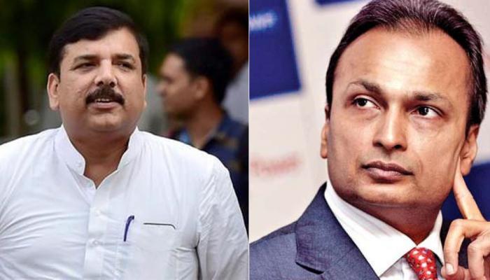 अनिल अंबानी ने AAP नेता संजय सिंह को भेजा 5000 करोड़ की मानहानि का नोटिस