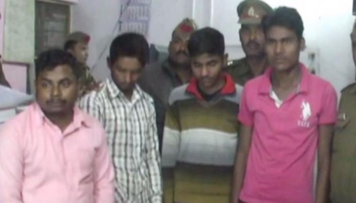 प्रिंसिपल के घर में ही था नकल माफियाओं का डेरा, 15 लाख रुपयों के साथ चार गिरफ्तार