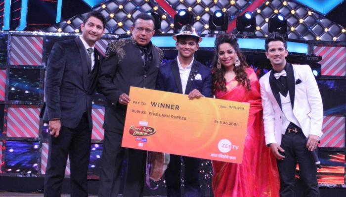 Sanket Gaonkar won the title of Dance India Dance season 6