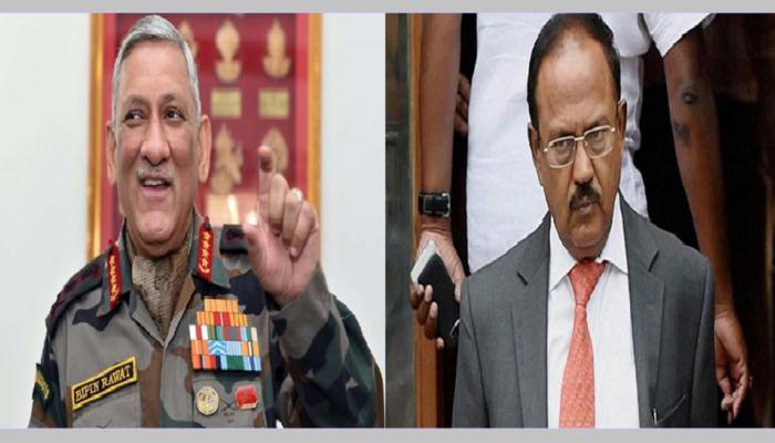 सेना प्रमुख, विदेश सचिव, एनएसए डोभाल चुपचाप पहुंचे भूटान; डोकलाम और चीन पर हुई अहम चर्चा