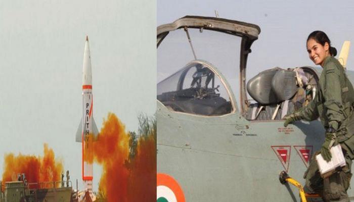 आज के प्रमुख समाचारः पृथ्वी-2 मिसाइल का सफल परीक्षण, अवनी चतुर्वेदी ने अकेले उड़ाया MiG-21