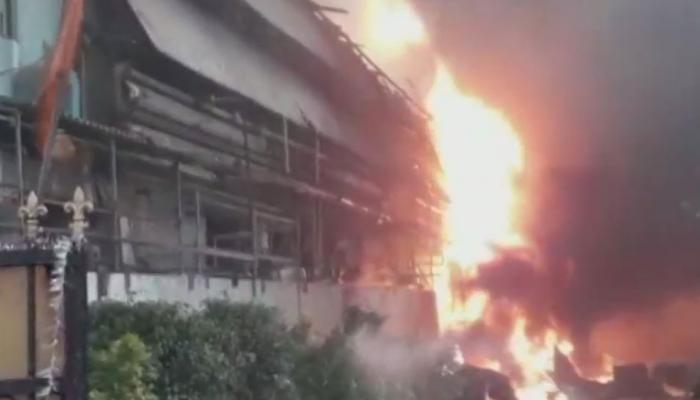 हैदराबाद की दवा फैक्ट्री में लगी आग, चार कर्मचारी झुलसे