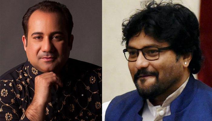 बाबुल सुप्रियो और राहत फतेह अली खान के बीच ट्विटर पर वाक् युद्ध
