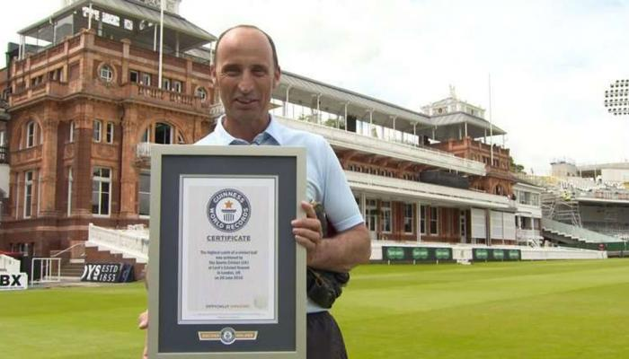 VIDEO: इंग्लिश कप्तान ने बनाया था सबसे ऊंचे कैच का वर्ल्ड रिकॉर्ड, भारत से है खास नाता