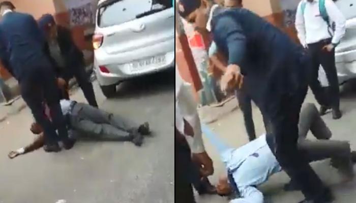 दिल्ली: ट्रैफिक पुलिस ने युवक को घसीट-घसीटकर पीटा, वायरल हुआ Video तो दी ये सफाई