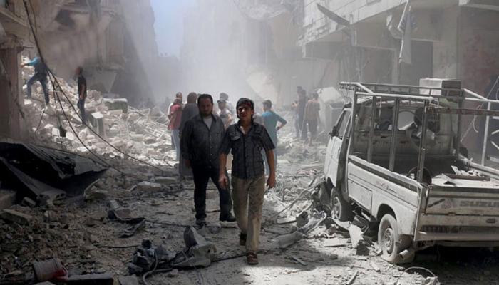 'संयुक्त राष्ट्र से पारित संघर्ष विराम प्रस्ताव के बावजूद सीरिया में नहीं पहुंच रही मानवीय मदद'