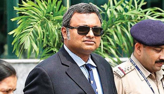 बड़ी साजिश का पर्दाफाश करने के लिये कार्ति की हिरासत में पूछताछ जरूरी: अदालत