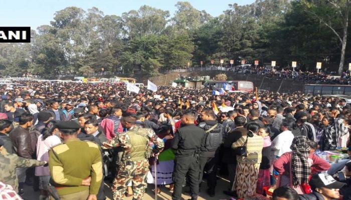 Meghalaya tripura nagaland Assembly Elections 2018 counting photos