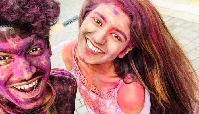A photo of priya prakash varrier going to viral