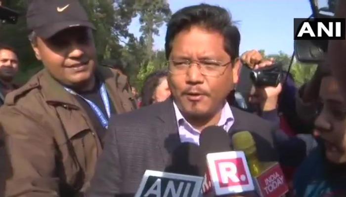 मेघालय: एनपीपी अध्यक्ष कोनराड ने की राज्यपाल से मुलाकात, सरकार बनाने का पेश किया दावा