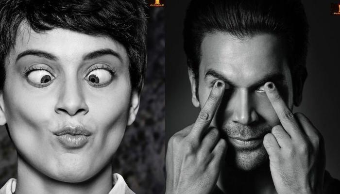 'मेंटल है क्या' में पागलपंती करते हुए दिखेंगे कंगना और राजकुमार राव, देखें First Look
