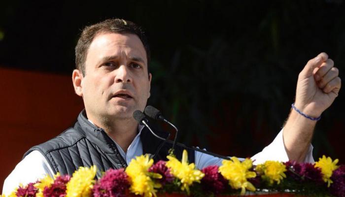 राहुल गांधी का हमला, 'बीजेपी ने मेघालय में जनादेश का अपमान किया है'