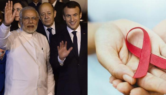 आज के प्रमुख समाचार : भारत यात्रा पर फ्रांस के राष्ट्रपति और मेरठ में कैदी पाए गए HIV पॉजिटिव