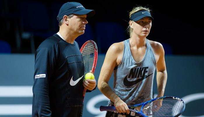 Maria Sharapova splits with long-time coach Sven Groeneveld amid struggles