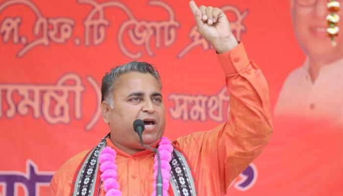JNU समेत पूरा भारत जल्द होगा कम्युनिस्ट मुक्त, त्रिपुरा में बीजेपी नेता का ऐलान