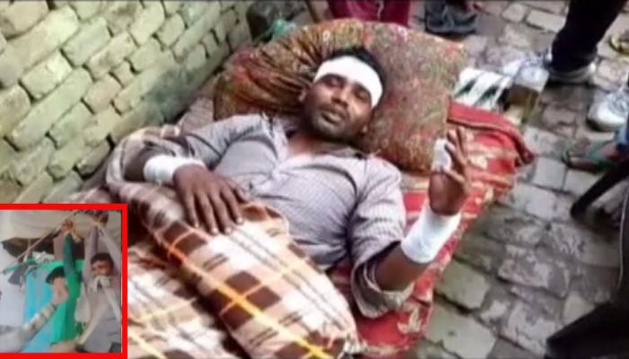 UP: दिव्यांग को रस्सी से बांधकर दबंगों ने पीटा और बनाया पिटाई का VIDEO